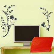 Wall Stickers Wall Stickers Sober Flower Vines Tv Background 5719