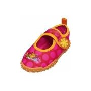 Playshoes UV meisjes waterschoenen roze met bloem