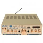 Amplificator Audio cu Bluetooth de putere 2x100W Statie Amplificare BT-1288