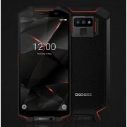 """DOOGEE S70-6"""" FHD+ 4G Smartphone para exteriores, 5500 mAh IP68/IP69K resistente al agua/polvo/a prueba de golpes, Helio P23 6GB + 64 GB, 16 MP + 5 MP + 12 MP cámara, modo de juego/inalámbrico rojo"""