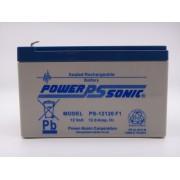 Acumulator 12V 12Ah Power Sonic PS-12120 GEL, AGM, VRLA pentru carucior electric, UPS