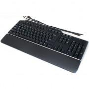 Tastatura Dell US-EURO Qwerty KB522, Multimedia, USB, Negru