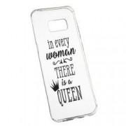 Husa de protectie Woman Queen Samsung Galaxy S8 Plus rez. la uzura Silicon 227