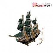 Mini Corabia Queen Annes Revenge - Puzzle 3D - 24 de piese
