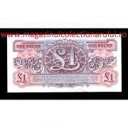 Monede si Bancnote de pe Glob Nr.63 - 1 LIRA BRITANICA