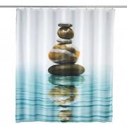 WENKO Duschvorhang Meditation 180 x 200 cm Polyester