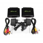 2.4G Receptor Transmisor Inalámbrico De Audio Y Vídeo Extensor Remitente 150m De Alcance