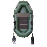 Čln Kolibri K-190 zelený, lamelová podlaha