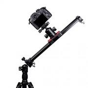 ELECTROPRIME® Portable 40cm DSLR DV Camera Track Dolly Slider Video Stabilizer System