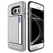 Samsung Galaxy S7 Edge VRS Design Damda Clip Series Case - Light Silver
