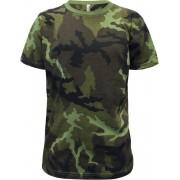 Koszulka dziecięca militarna woodland Alex Fox