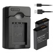 ENEGON Batería Sustituida(2 Paquetes) y USB Cargador para Nikon EN-EL12 and Nikon Coolpix A900 AW100 AW130 P300 P330 S31 S70 S610 S800c
