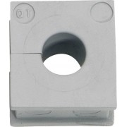 Manşon cablu, Ø min./max. 6/7 mm, elastomer, gri, Icotek QT 6
