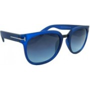Els Over-sized Sunglasses(Blue)
