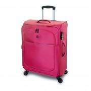 QUBEd Segment 75cm 4-Wheel Large Expandable Suitcase - Navy