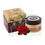 Crema fata 24h ten gras-normal cu ceara albine, dictam, labdanum, damask rose 40 ml