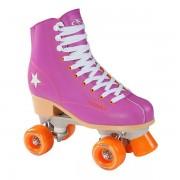 Lobbes Hudora Disco Rolschaatsen Paars/Oranje, maat 37
