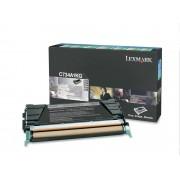 Lexmark Toner nero c734 c736 x734 x736 x738 8k return program