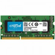 CRUCIAL 4GB DDR3 1066 MT/s PC3-8500 CL7 SODIMM 204pin for Mac CT4G3S1067M
