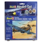 Revell Model Set Hawker Hurricane Mk.IIC katonai repülő makett revell 64144