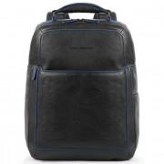 Piquadro Blue Square Special Business Sac à dos cuir 42 cm compartiment Laptop