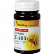 Vitaking Természetes E-400 vitamin gélkapszula, 60 db