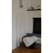 Star Trading Willow dekorationskvist 115cm naturvit