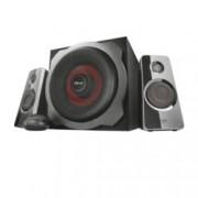 Тонколони TRUST GXT 38 Subwoofer Speaker Set, 60W, 3.5mm jack, 3.5mm jack, черни
