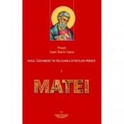 Noul Testament in talcuirea sfintilor parinti I. Matei vol. 1