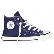 Converse Sneakers Converse All Star Hi Canvas Junior blu (Colore: blu, Taglia: 32)