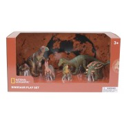 Set 6 figurine Dinozauri National Geographic, 3 ani+