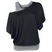 Black Premium by EMP When The Heart Rules Damen-T-Shirt XS, S, M, L, XL, XXL, 3XL, 4XL, 5XL Damen