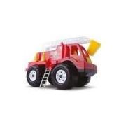 Brinquedo Carrinho Tandy - Caminhao De Bombeiros - Cardoso - Vermelho - Ref 1049