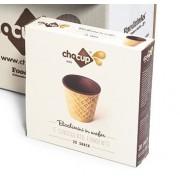 Pahar Comestibil Chocup Mini 30 ml - 20 buc/cutie