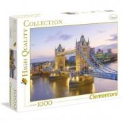 Clementoni puzzle 1000 pezzi high quality collection tower bridge 39022