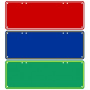 """Custom Novelty Number Plate (Blank)"""
