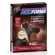 Nutrition & Sante' Italia Spa Pesoforma Barrette Dark 12pz
