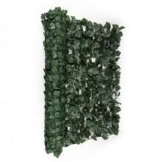 Blumfeldt Fency Dark Ivy, sötétzöld, borostyán, kerítés, védelmet nyújt a kíváncsi tekintetekkel és a széllel szemben, 300 x 100 cm (GDW2-FencyDarkIvy310)