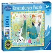 Puzzle Frozen, 100 Piese