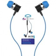 High Bass Wired EarPhone With Mic Hi-Resolution Pure Voice Brand new Music Experience(BLUE-BLHFK 250)