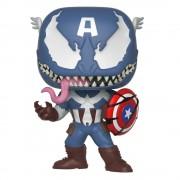 Pop! Vinyl Figura Funko Pop! Capitán América Venomizado - Venom