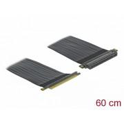 Riser Card PCI Express x16 la x16 + cablu flexibil 60cm, Delock 85765