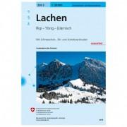 Swisstopo - 236 S Lachen - Skitourgidsen Ausgabe 2015
