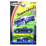 Matchbox Superfast Limited Edition 10,000 35th Anniversary 2005 Chevrolet Corvette C6 1:64 Scale