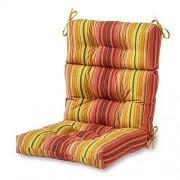 Greendale Home Fashions Cojín para Tumbona con respaldar Alto para Interiores/Exteriores