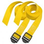 Set 2 ks upínací popruhy Master Lock 3005EURDATCOL - žlutý - 180cm