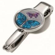 Táskatartó kampó, TROIKA Vintage Butterflies (TROBGH03A158)