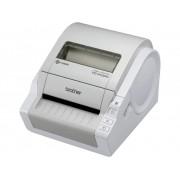 Brother TD-4100N Labelprinter Thermisch 300 x 300 dpi Etikettenbreedte (max.): 102 mm USB, RS-232, LAN