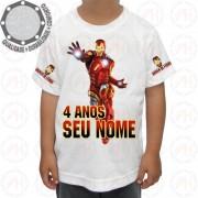Camiseta Homem de Ferro Power