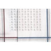- Férfi zsebkendő 2db (fehér, vitorlás minta)